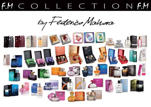 FM Perfumes collection - www.KosmoTeam.com